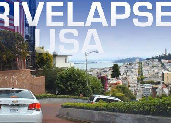 5 Minute Roadtrip Timelapse Tour Around America