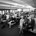 """This is the way Pan Am envisioned their """"Economy Class"""" on 747s in the 1960s. - Imgur"""