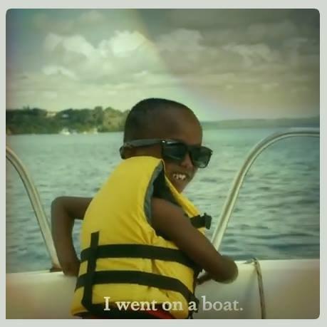 Gotta love this kid's bucket list