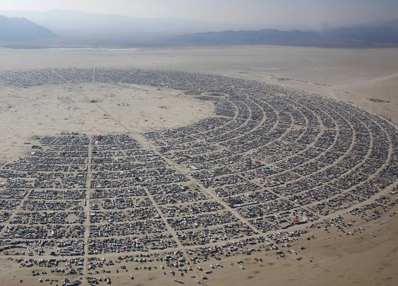 Burning Man Aerial Photos