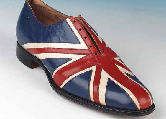 Union Jack Shoes by George Webb & Sons
