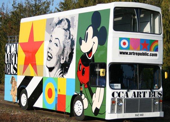 Brighton Bus by Sir Peter Blake
