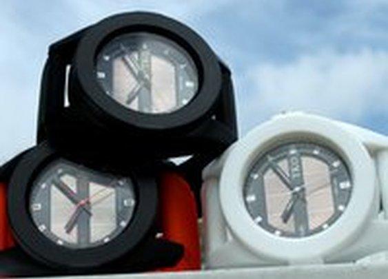 Fancy - Rubber Solar Powered Men's Watch by TKO