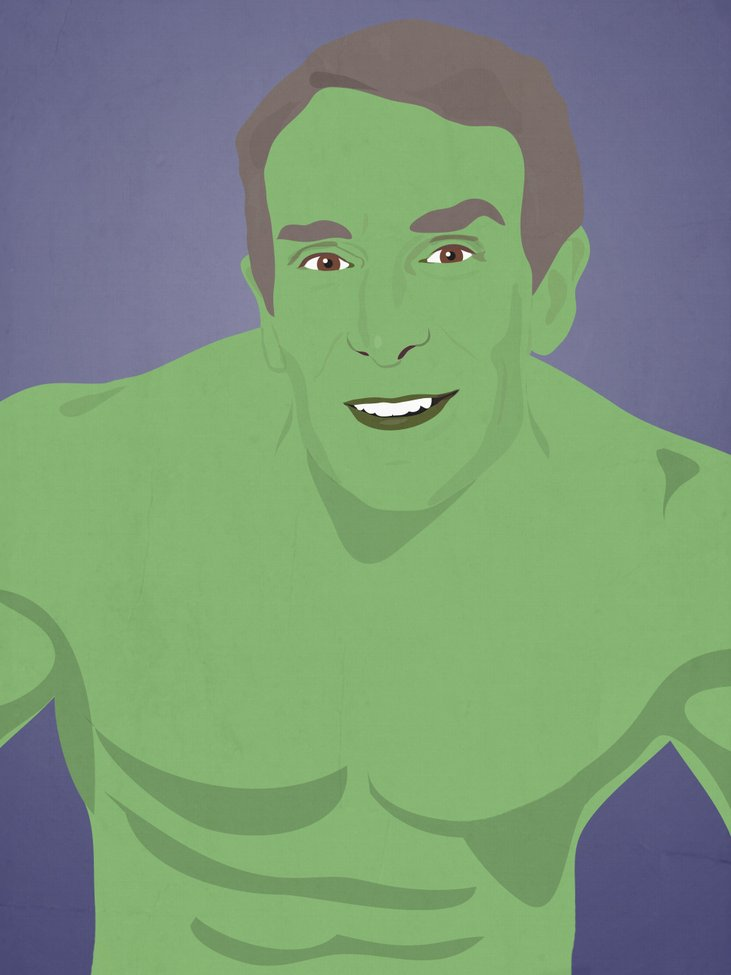 Bill Nye, LeVar Burton, And Other Childhood Favorites As Superheroes