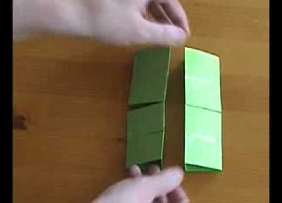 Crazy paper transformer thing - YouTube