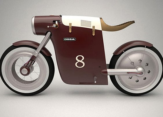 Monocasco Electric Bike Concept