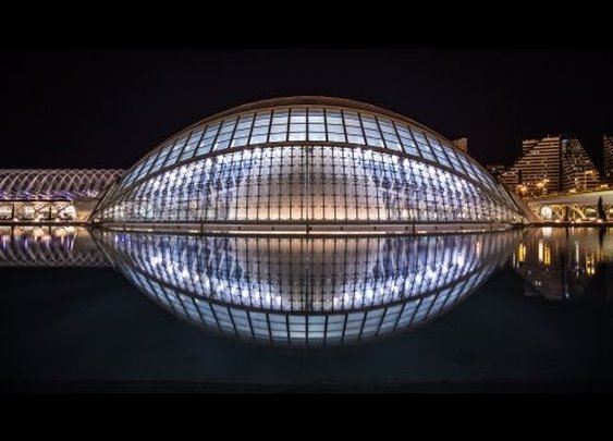 Nightvision – Time-Lapse of European Architecture