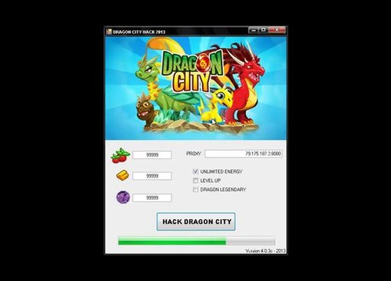 Dragon City Cheats Hack Tool