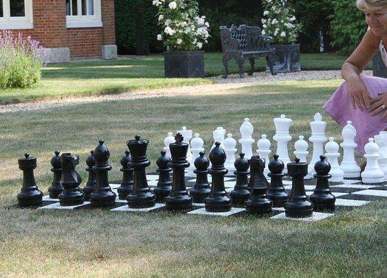 garden chess by uber games | notonthehighstreet.com