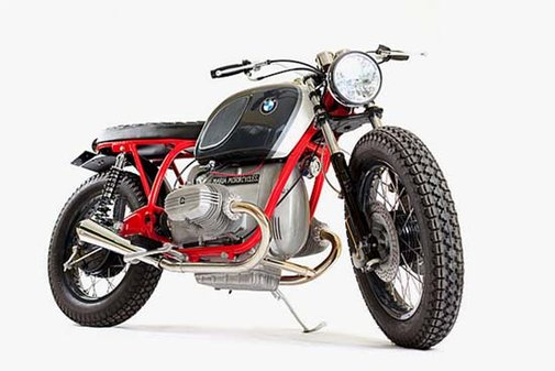"""BMW R75/6 """"Panzer"""" by Maria Motorcycles"""