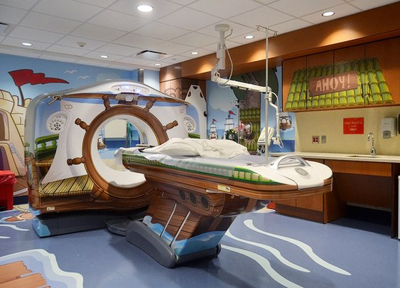 New York City Children's Hospital Gets A Pirate-Themed CAT Scan Machine