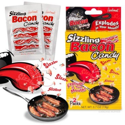 Sizzling Bacon Candy - Archie McPhee & Co.