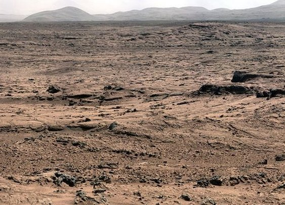 BBC News - Earth life 'may have come from Mars'