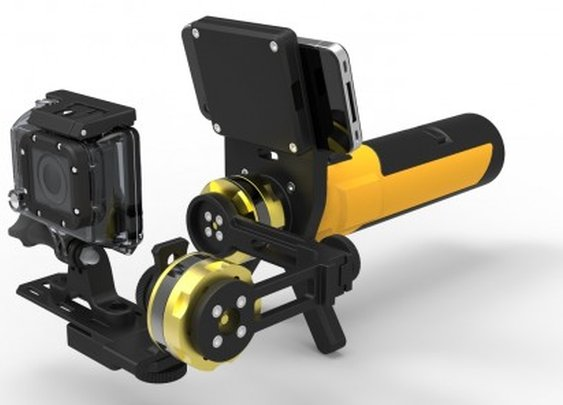 Gyromatic Go2X GoPro camera stabilizer improves your action shots