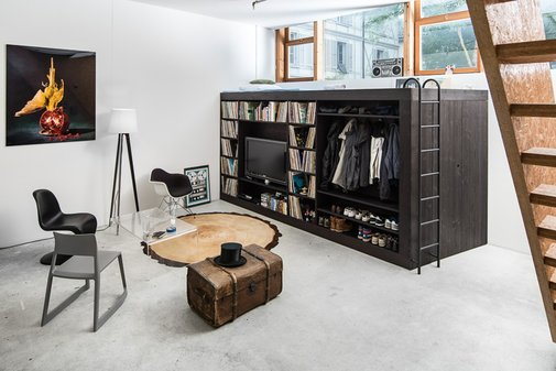 Living Cube —  Shoebox Dwelling   Finding comfort, style and dignity in small spaces