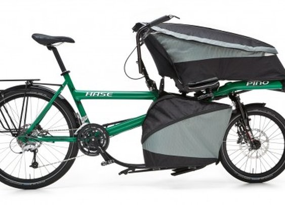 Pino Porter cargo-bike carries up to 176 pounds
