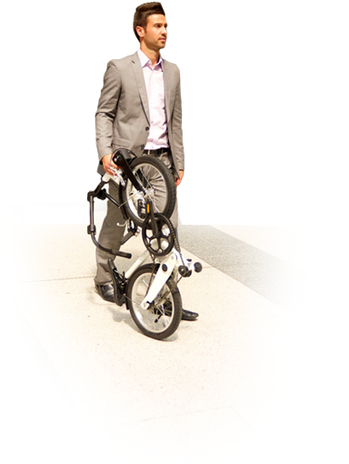 big fish folding bike done in 10 seconds