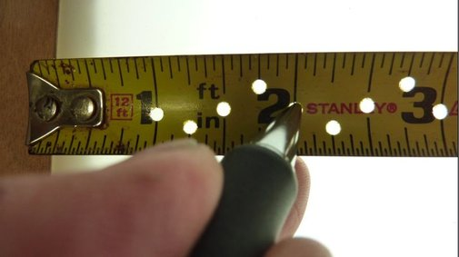 Easy to Make Precision Tape Measure