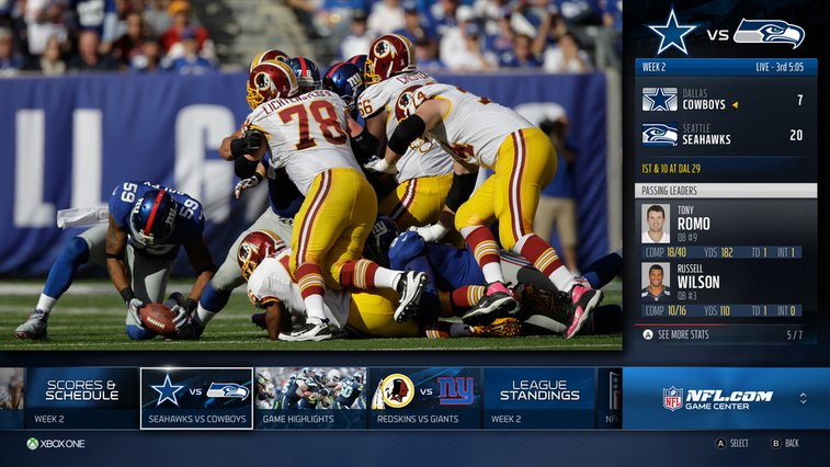 The Xbox One's Reinvention Of Watching Sports