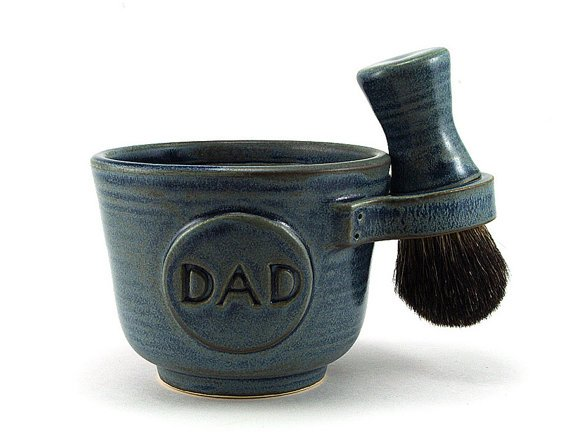 Shaving Set for Dads Black Badger Shave Brush |etsy
