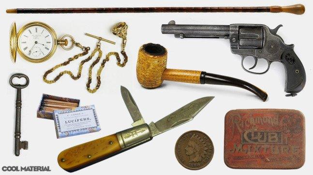 Everyday Carry: Late 1800′s   Cool Material