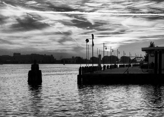 Sky on the Elizabeth River