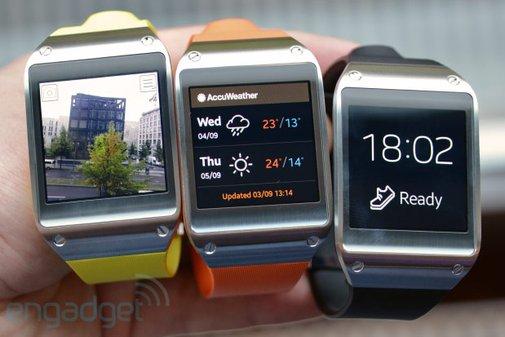 Samsung Galaxy Gear smartwatch hands-on (video)