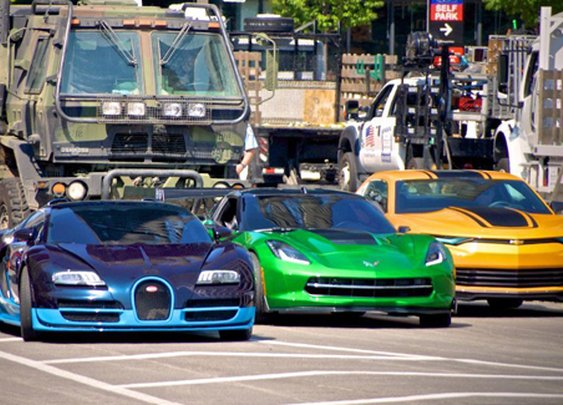 Transformers 4 Movie Set in Chicago is Awesome! - Classy Bro