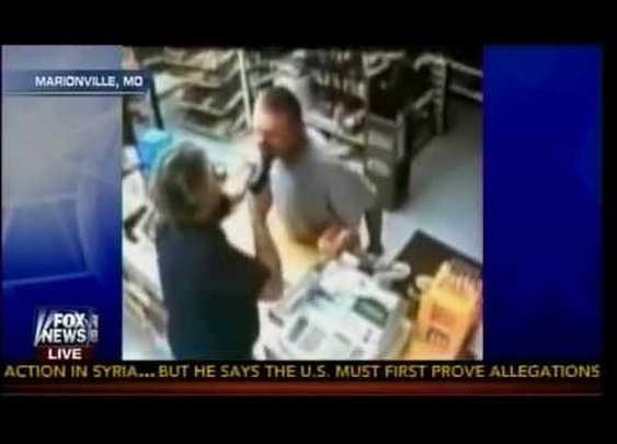 No Ordinary Clerk - Iraq War Vet Turns The Tables On Armed Robber - YouTube