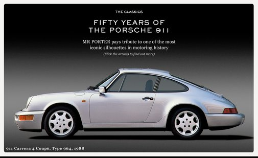 50 YEARS OF THE PORSCHE 911 | THE CLASSICS | The Journal|MR PORTER
