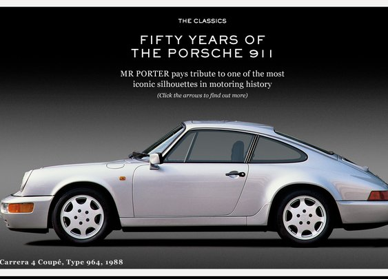 50 YEARS OF THE PORSCHE 911 | THE CLASSICS | The Journal | MR PORTER