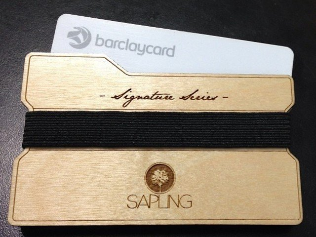 The Sapling Wallet - Custom Signature Series by John McConnell — Kickstarter