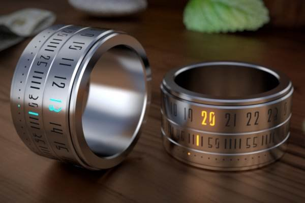 Ring Clock, the Watch that Has the Finger on the Pulse | Baxtton