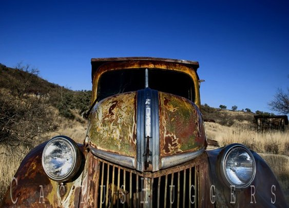 Vintage Truck Art Rusty Car Photo Fine Art by MurrayBolesta