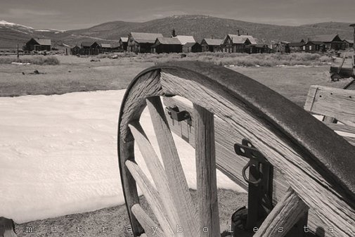 Ghost Town Southwest USA Sepia Photograph Western by MurrayBolesta