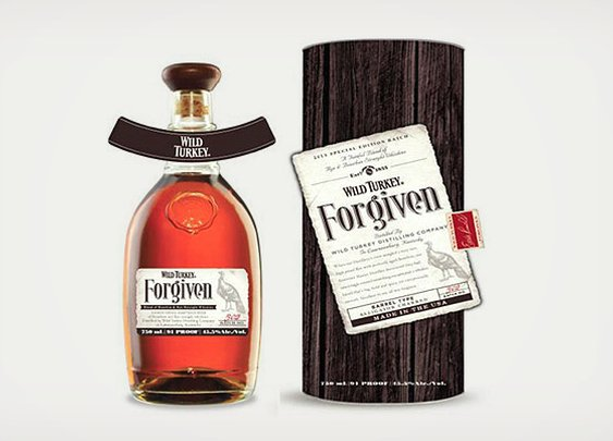 Wild Turkey Forgiven Whiskey Bourbon Mix