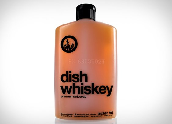 Dish Whiskey Soap | Uncrate