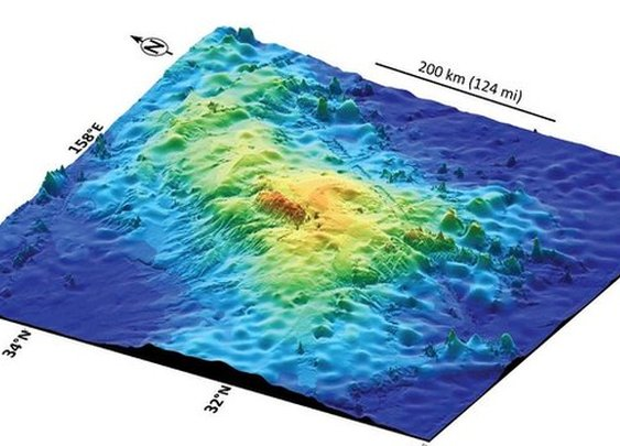 BBC- 'World's largest volcano discovered beneath Pacific