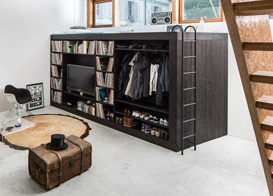 Classy Home Ideas: The Living Cube by Till Koenneker - Classy Bro