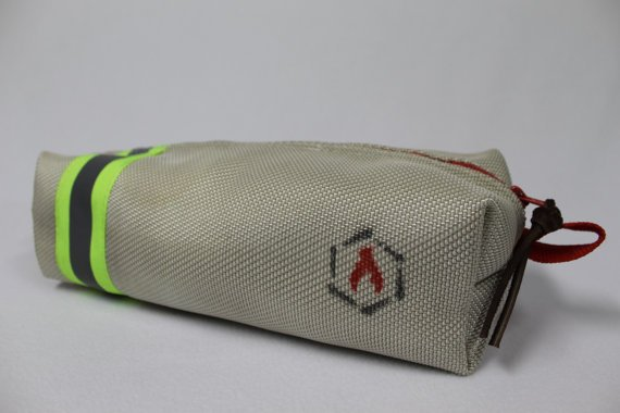 Recycled Fire Hose Dopp Kit