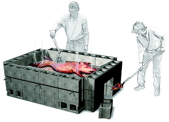 How to Cook a Whole Pig in Your Backyard