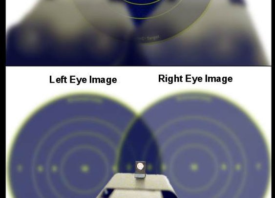 Stereopsis (Stereo Vision) and Shooting