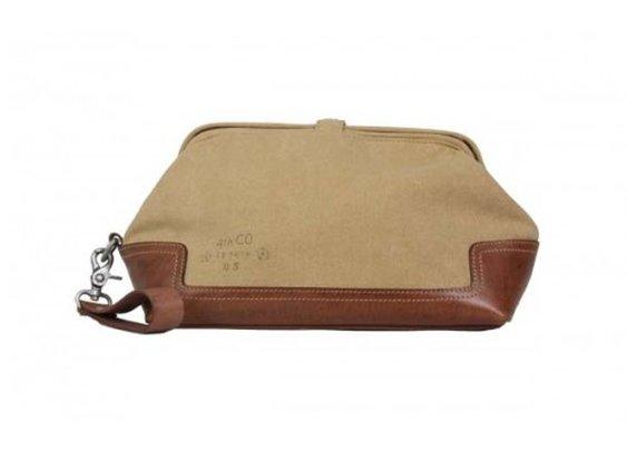 Parson Gray Sand Dopp Kit