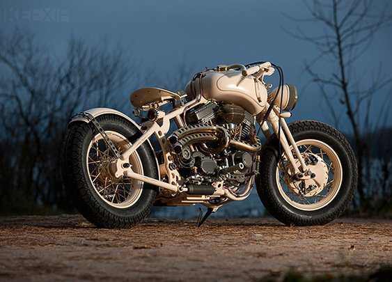 S&S-powered; custom | Bike EXIF