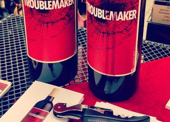 Troublemaker wine