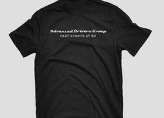 Advanced Drivers Group: Fast Starts At 50 T-Shirt | Winding Road Racing