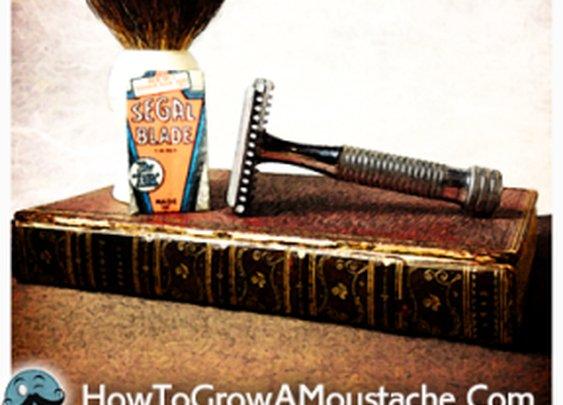 How To Modify A Modern DE Blade For A Vintage SEGAL Razor | How to Grow a Moustache
