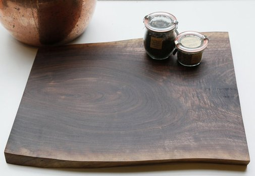 Items similar to Live Edge, Walnut, Cutting Board or Platter on Etsy