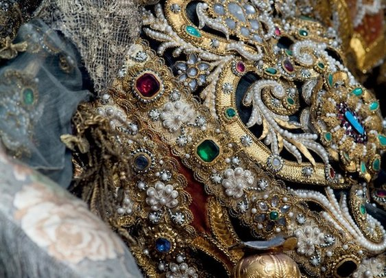 The Most Beautiful Dead: Photographs of Europe's Jeweled Skeletons