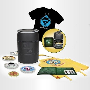 "Breaking Bad ""Breaking Bad: The Complete Series - Blu-ray Box Set with Free T-Shirt"" @ Official Breaking Bad Store"